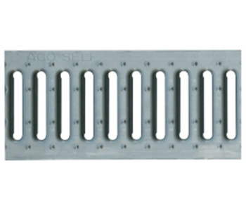 Решетка стальная оцинкованная ACO Hexaline, 1 м (A15) арт. 74527