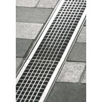 Решетка ячеистая V100 нержавеющая сталь, l=50cm, C250