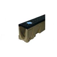 Решетка Lightspot V100 чугун, без отверстий для подсветки, l=50cm, D400
