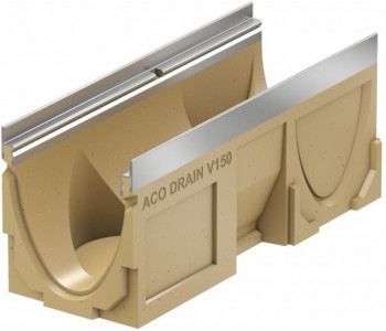 Канал ACO Multiline V150, l=50cm, h=21cm, кант из оцинк. стали