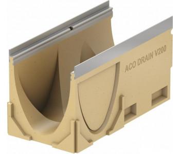 Канал ACO Multiline V200, l=50cm, h=26,5cm, кант из оцинк. стали
