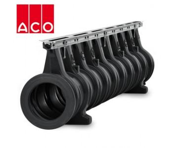 ACO Qmax 225 с щелевой насадкой ACO Q-Flow из оцинкованной стали арт.32802