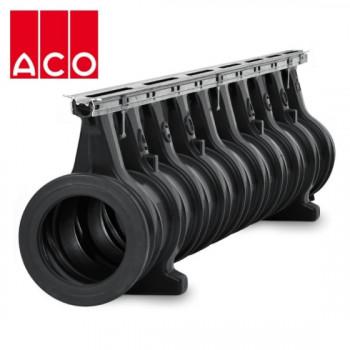 Водоотводная система ACO / АКО Qmax 225: доставка дренажных каналов, поверхностных водоотводов и ливневых лотков из Москвы по России