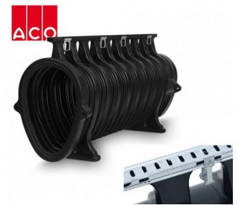ACO Qmax 700 с щелевой насадкой ACO Q-Flow из оцинкованной стали арт.32802