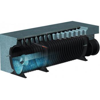 Водоотводная система ACO / АКО Qmax: доставка дождевых лотков, ливневых дождеприемников и поверхностных каналов из Москвы по РФ