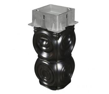 Пескоуловитель с углубленной крышкой и рамой ACO Q-Slot D400 арт.32978