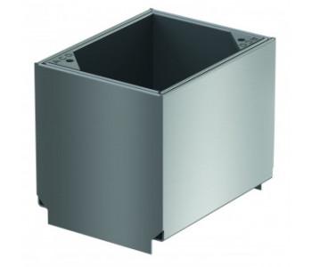 Ревизия из оцинкованной стали для щелевой решетки для каналов ACO SELF 0.15м, h - 40 мм