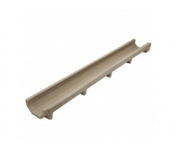 Лоток водоотводный полимерпесчанный DRENLINE Standart DN100 H70