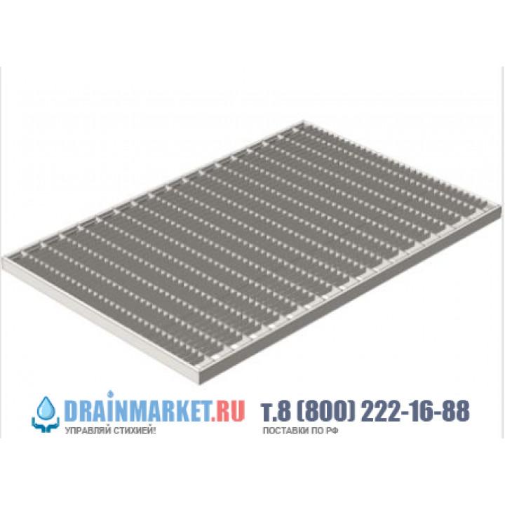 Придверная стальная решетка 390х590