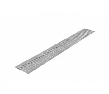 Решетка штампованная нержавеющая DN100 A15