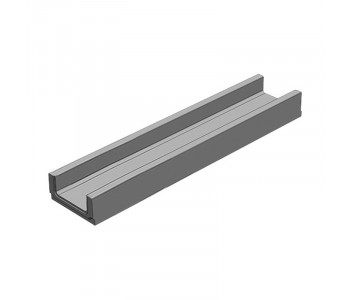 Лоток водоотводный бетонный коробчатый (СО-100мм)  КП 100.16 (10).8(4,5) - BGF