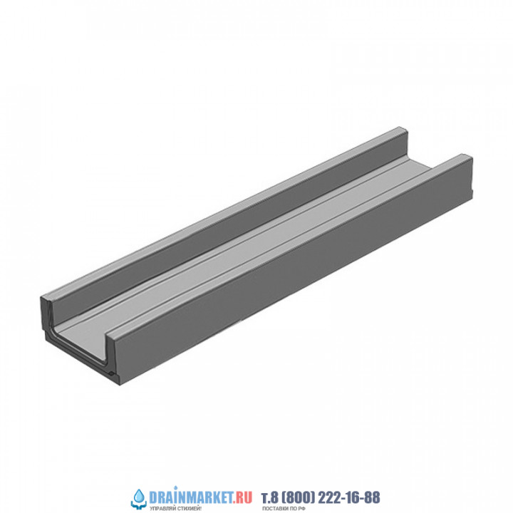 Лоток водоотводный бетонный коробчатый (СО-100мм)  КП 50.14 (10).6(3) - BGF