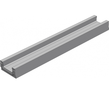 Лоток водоотводный бетонный коробчатый (СО-200мм)  КП 100.26 (20).10(6,5)-BGF