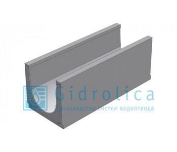 Лоток водоотводный бетонный коробчатый (СО-300мм)КU 100.39,4(30).39,5(32,5) - BGU, № 0
