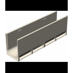 Полимербетонные лотки Gidrolica PolyStandart DN200 C250