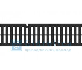 Решетка водоприемная Gidrolica Pro РВ -10.13,5.50 - щелевая пластиковая, кл. С250