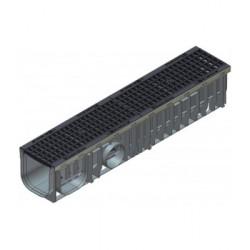 Каналы RECYFIX PLUS 150 из полиэтилена высокой плотности PE-PP с чугунной решеткой