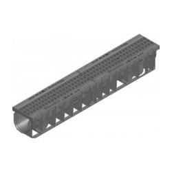 Каналы RECYFIX PRO 100 из полиэтилена высокой плотности PE-PP с полиамидной решеткой