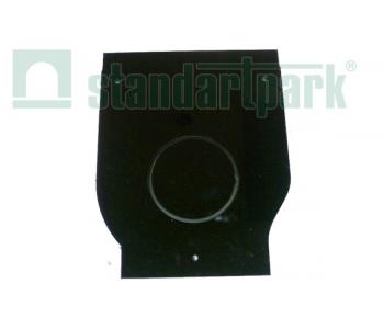 Заглушка торцевая стальная ЗЛВ-40.52.51-Б-ОС с водоотводом для лотка водоотводного бетонного 6181-09Б арт.6181-09Б