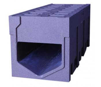 Водоотводной монолитный канал dn300 h410, полимербетон арт.ВМБ.30.41