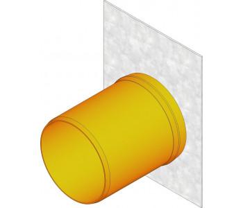 Торцевая заглушка для FASERFIX 100 с патрубком DN100 арт.5096