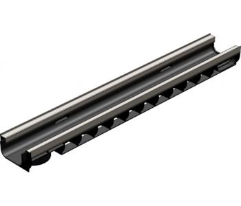 Водоотводный пластиковый канал Gidrolica standart plus лв-10.14,5.08 арт.8034