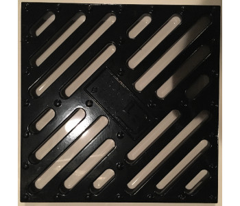 Решетка водоприемная к дождеприемнику РВ 28.28 алюминиевая окрашеная арт.5281