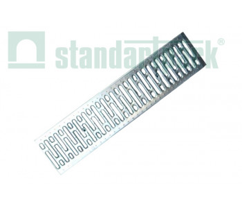Решетка водоприемная Basic РВ-20.24.100 штампованная, нержавеющая сталь 2590 арт.2590