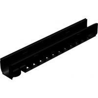 Пластиковый дренажный канал Gidrolica standart лв-10.14,5.13,5 арт.800