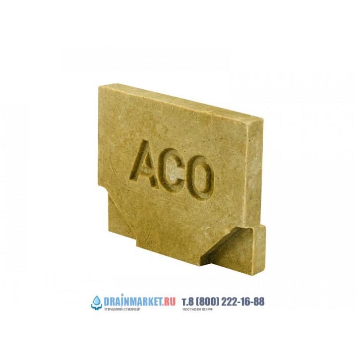 Торцевая заглушка для каналов ACO SELF Euroline арт.38504