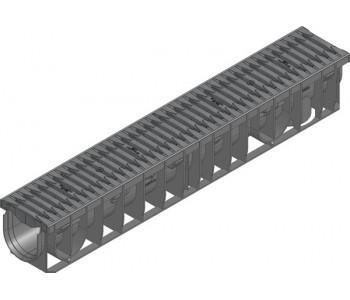 Канал RECYFIX PRO. тип 01, в сборе со щелевой решеткой из полиамида арт.47055