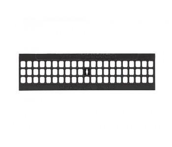 Чугунная ячеистая дренажная решетка DN100 арт.20403