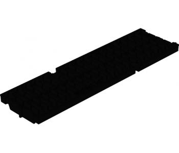 Щелевая пластиковая водоприемная решетка Gidrolica pro рв-10.13,5.50 арт.509