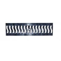 Пластиковая водосточная решетка DN100 волна арт.80303