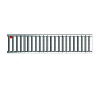 Решетка электрополированная из нержавеющей стали для каналов ACO SELF 1 м (A15)