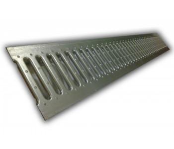 Решетка DN100 стальная штампованная (с отверстиями под крепеж) арт.2А995919