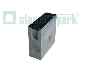 Пескоуловитель BetoMax ПУ-11.19.50-Б бетонный с решеткой щелевой чугунной ВЧ протектор кл.D (комплект) 04182 арт.4182