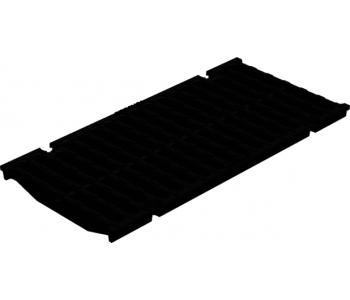 Чугунная щелевая решетка Gidrolica super рв-20.24.50 арт.50209D