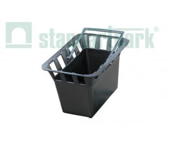 Корзина для дождеприемника ДП-30.30-ПП пластиковая 8379 арт.8370-Н
