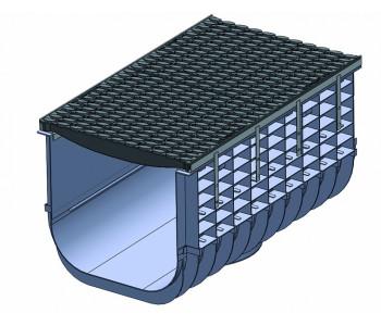 Поверхностный ливневый канал PROFI PLASTIK арт.1512С