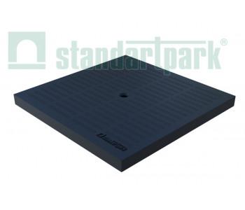 Крышка к дождприемнику PolyMax Basic К-28.28-ПП пластиковая черная 3389-Ч арт.3389-Ч
