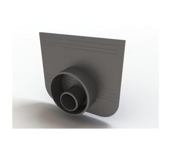 Заглушка-переходник для лотков пластиковых Стандарт 100.125 и 100.175 арт.ДИ 02805