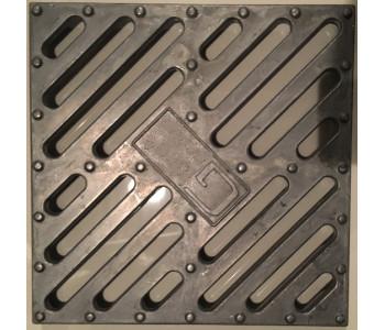 Решетка водоприемная к дождеприемнику РВ 28.28 алюминиевая арт.528