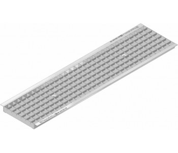 Решетка ячеистая стальная, оцинкованная  (30х30) арт.40673