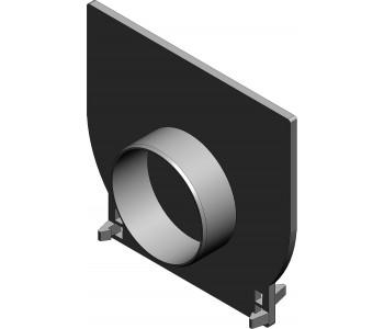 Торцевая заглушка для RECYFIX PRO, тип 01 арт.47091