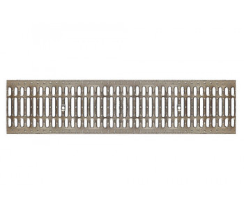 Штампованная оцинкованная дренажная водоприемная решетка DN200 арт.2210
