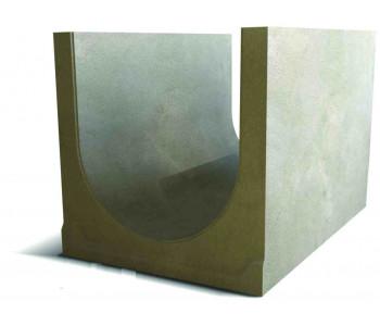 Водоотводный дренажный лоток NORMA 500 с уклоном 0.5% N18 арт.2050118