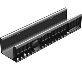 Пластиковый канал Gidrolica standart plus лв-20.24,6.18,5 усиленный арт.8204