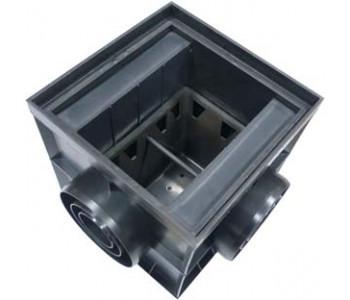 Дождеприемник пластиковый с перегородкой 200х200 арт.4220