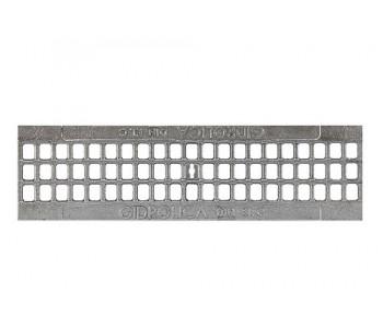 Ливневая решетка из оцинкованного чугуна для поверхностных водоотводов арт.204036